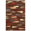 """Nourison Expressions 3'6"""" x 5'6"""" Chocolate Rectangle Rug - Item Number: XP10 CHO 36X56"""