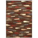 "Nourison Expressions 9'6"" x 13'6"" Chocolate Rectangle Rug - Item Number: XP10 CHO 96X136"
