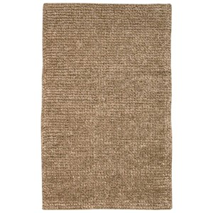 "Nourison Fantasia 3'6"" x 5'6"" Beige Rectangle Rug"