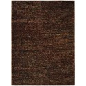 Nourison Fantasia 8' x 11' Brown Rectangle Rug - Item Number: FAN1 BRN 8X11