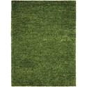 Nourison Fantasia 8' x 11' Green Rectangle Rug - Item Number: FAN1 GRE 8X11