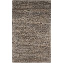 "Nourison Fantasia 3'6"" x 5'6"" Grey Rectangle Rug - Item Number: FAN1 GRY 36X56"