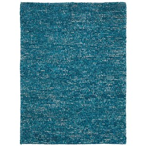 "Nourison Fantasia 3'6"" x 5'6"" Turquoise Rectangle Rug"