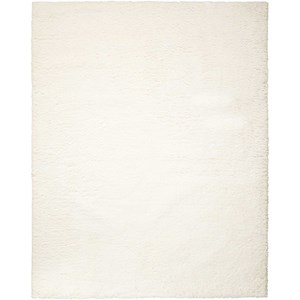 "Nourison Galway 7'6"" x 9'6"" Ivory Rectangle Rug"