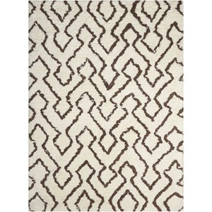 Nourison Galway 5' x 7' Ivory/Chocolate Rectangle Rug