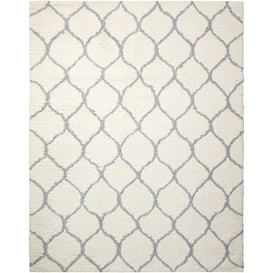 Nourison Galway 5' x 7' Ivory/Ash Rectangle Rug
