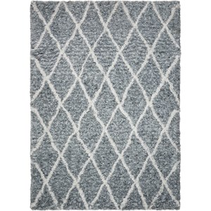 "Nourison Galway 7'6"" X 9'6"" Grey/Ivory           Rug"