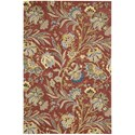 "Nourison Gatsby 8' x 10'6"" Multicolor Rectangle Rug - Item Number: GAT01 MTC 8X106"