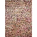 "Nourison Gemstone1 7'9"" X 9'9"" Tourmaline Rug - Item Number: GEM02 TOURM 79X99"