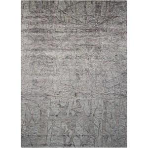 """Nourison Gemstone1 8'6"""" X 11'6"""" Hematite Rug"""