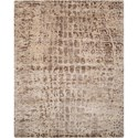 "Nourison Gemstone1 7'9"" X 9'9"" Smoky Quartz Rug - Item Number: GEM06 SMKQZ 79X99"