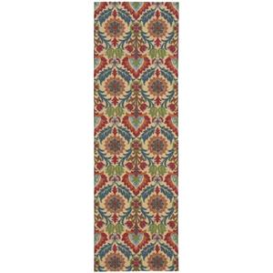 "Nourison Global Awakening Area Rug 2'6"" X 8'"