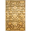 "Nourison Grand Estate 7'9"" x 9'9"" Sage Area Rug - Item Number: 07978"