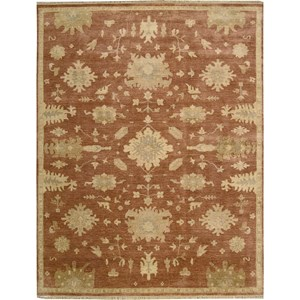 "Nourison Grand Estate 7'9"" x 9'9"" Persimmon Area Rug"