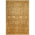 "Nourison Grand Estate 5'6"" x 8' Mushroom Area Rug - Item Number: 08155"