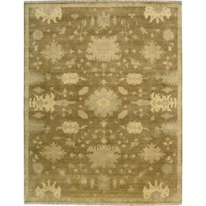 "Nourison Grand Estate 9'9"" x 13'9"" Tobacco Area Rug"