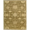 "Nourison Grand Estate 8'6"" x 11'6"" Tobacco Area Rug - Item Number: 08176"