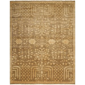 "Nourison Grand Estate 8'6"" x 11'6"" Mushroom Rectangle Rug"