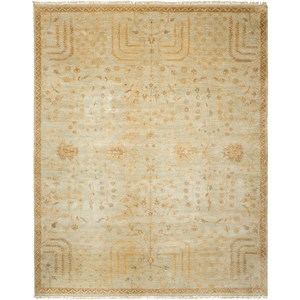 "Nourison Grand Estate 5'6"" x 8' Sky Rectangle Rug"