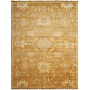 "Nourison Grand Estate 7'9"" x 9'9"" Tobacco Rectangle Rug"