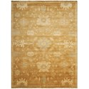 "Nourison Grand Estate 9'9"" x 13'9"" Tobacco Rectangle Rug - Item Number: GRA03 TOB 99X139"