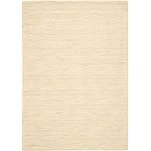 Nourison Grand Suite Area Rug 4' x 6' Cream Area Rug