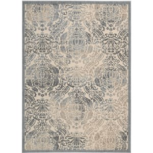 "Nourison Graphic Illusions 2'3"" x 3'9"" Sky Area Rug"