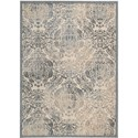 "Nourison Graphic Illusions 3'6"" x 5'6"" Sky Area Rug - Item Number: 31237"