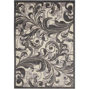"Nourison Graphic Illusions 2'3"" x 3'9"" Multicolor Rectangle Rug"