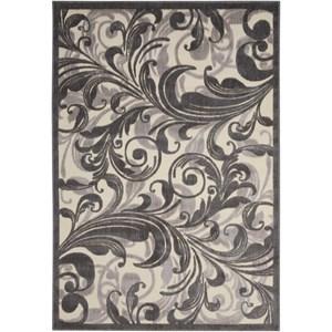 """Nourison Graphic Illusions 7'9"""" x 10'10"""" Multicolor Rectangle Rug"""