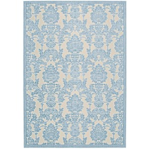 "7'9"" x 10'10"" Iv/Ltb Rectangle Rug"