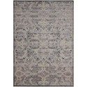 """Nourison Graphic Illusions 5'3"""" x 7'5"""" Grey Rectangle Rug - Item Number: GIL05 GRY 53X75"""