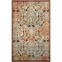 "Nourison Graphic Illusions 3'6"" x 5'6"" Chocolate Rectangle Rug - Item Number: GIL09 CHO 36X56"