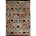"Nourison Graphic Illusions 7'9"" x 10'10"" Chocolate Rectangle Rug - Item Number: GIL09 CHO 79X1010"