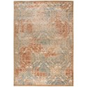 """Nourison Graphic Illusions 7'9"""" x 10'10"""" Light Gold Rectangle Rug - Item Number: GIL09 LGD 79X1010"""