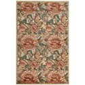 """Nourison Graphic Illusions 3'6"""" x 5'6"""" Light Gold Rectangle Rug - Item Number: GIL10 LGD 36X56"""