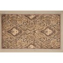 "Nourison Graphic Illusions 2'3"" x 3'9"" Grey Rectangle Rug - Item Number: GIL11 GRY 23X39"