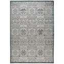 """Nourison Graphic Illusions 7'9"""" x 10'10"""" Grey Rectangle Rug - Item Number: GIL12 GRY 79X1010"""