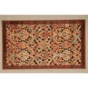 """Nourison Graphic Illusions 2'3"""" x 3'9"""" Chocolate Rectangle Rug - Item Number: GIL15 CHO 23X39"""