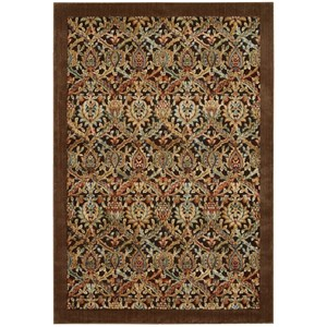 "5'3"" x 7'5"" Chocolate Rectangle Rug"