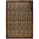 """Nourison Graphic Illusions 7'9"""" x 10'10"""" Chocolate Rectangle Rug - Item Number: GIL15 CHO 79X1010"""