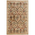 "Nourison Graphic Illusions 3'6"" x 5'6"" Light Gold Rectangle Rug - Item Number: GIL15 LGD 36X56"