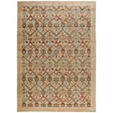 "Nourison Graphic Illusions 7'9"" x 10'10"" Light Gold Rectangle Rug - Item Number: GIL15 LGD 79X1010"