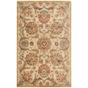 "Nourison Graphic Illusions 3'6"" x 5'6"" Beige Rectangle Rug - Item Number: GIL17 BGE 36X56"