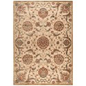 "Nourison Graphic Illusions 7'9"" x 10'10"" Beige Rectangle Rug - Item Number: GIL17 BGE 79X1010"