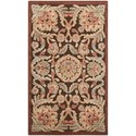 """Nourison Graphic Illusions 2'3"""" x 3'9"""" Chocolate Rectangle Rug - Item Number: GIL17 CHO 23X39"""