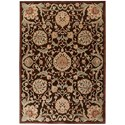 """Nourison Graphic Illusions 7'9"""" x 10'10"""" Chocolate Rectangle Rug - Item Number: GIL17 CHO 79X1010"""