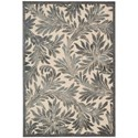 "Nourison Graphic Illusions 7'9"" x 10'10"" Ivory Rectangle Rug - Item Number: GIL19 IV 79X1010"