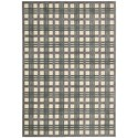 """Nourison Graphic Illusions 2'3"""" x 3'9"""" Ivory/Taupe Rectangle Rug - Item Number: GIL20 IVTAU 23X39"""
