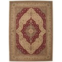 Nourison Heritage Hall 12' x 15' Lacquer Rectangle Rug - Item Number: HE03 LAC 12X15